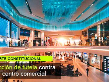 Acción de usuario en contra de Centro Comercial