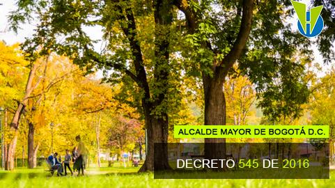 Decreto 545 de 2016