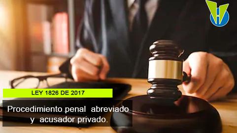 Ley 1826 de 2017