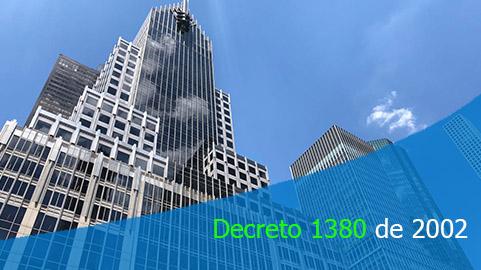 Decreto 1380 de 2002