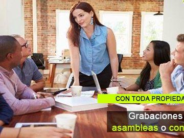 Cómo se regulan las grabaciones en asambleas o consejos