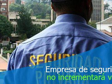 Empresa de vigilancia no puede incrementar valor del servicio por modificación en jornada nocturna