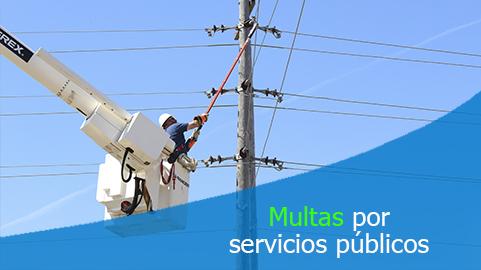 Empresas de servicios públicos domiciliarios no pueden multar a los usuarios