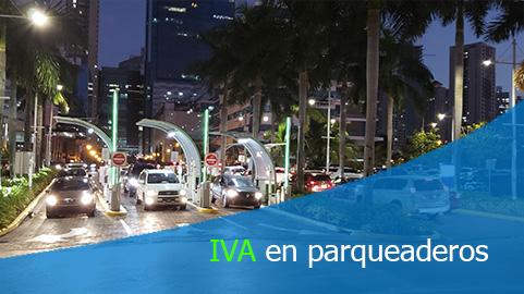 Servicio de parqueaderos del régimen de la propiedad horizontal está gravada con IVA