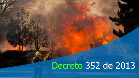 Decreto 352 de 2013