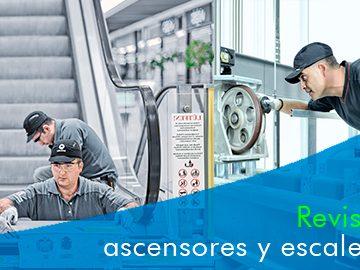 Revisión general obligatoria de ascensores, escaleras, rampas y puertas eléctricas