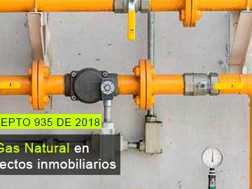 Proyectos inmobiliarios no están en la obligación de ofrecer el servicio de gas natural