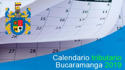 Calendario tributario 2019 de Bucaramanga