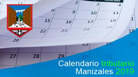 Calendario tributario 2019 de Manizales