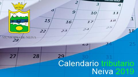 Calendario tributario Neiva 2019