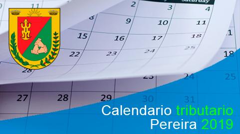 Calendario tributario 2019 de Pereira