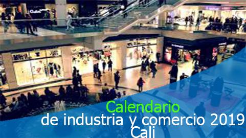 Calendario tributario 2019 para pago del impuesto de industria y comercio Cali