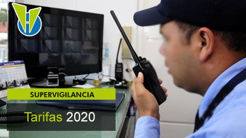 Tarifa del servicio de vigilancia para el 2020 depende del estrato y el uso de armas y caninos