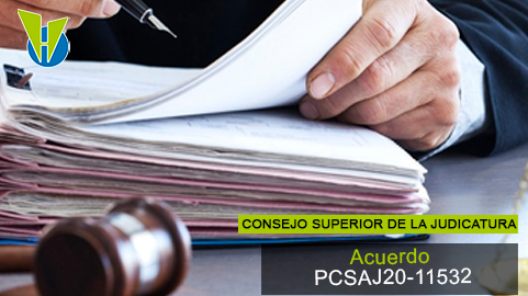 Acuerdo PCSAJ20-11532