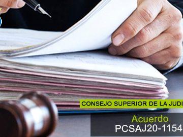 Acuerdo PCSAJ20-11549