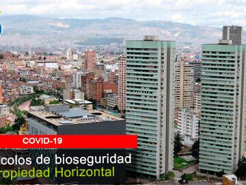 Propiedad Horizontal ya cuenta con protocolo de bioseguridad dictado por  MinSalud