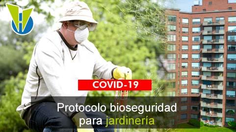 Servicios de jardinería y zonas verdes en Propiedad Horizontal ahora cuentan con protocolos