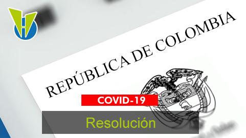 Resolución No. 735 – 2020