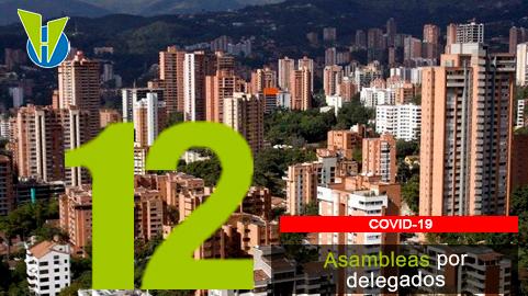 12. ¿Se pueden hacer asambleas presenciales con delegados?