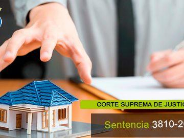 Sentencia 3810-2020