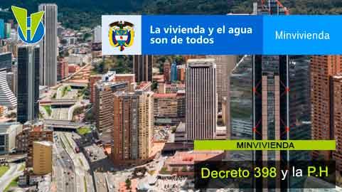 MinVivienda también se pronunció sobre aplicación del Decreto 398 en la P.H.