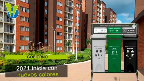 Nuevo código de colores para separación de residuos entra en vigencia en enero 1 de 2021