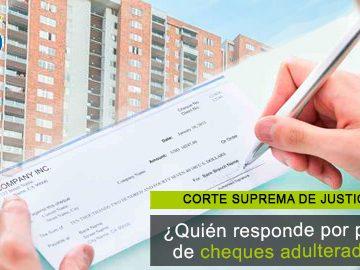 Responsabilidad de los bancos por el pago de cheques adulterados: nueva posición de la Corte
