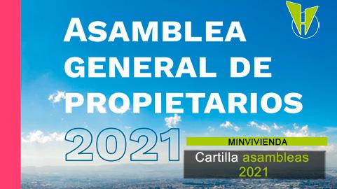 Ministerio de Vivienda expide cartilla sobre asambleas 2021