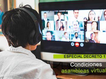 Asambleas virtuales: temporalmente no es necesario que todos los propietarios la integren