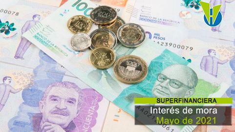 Interés de mora en Propiedad Horizontal Mayo de 2021