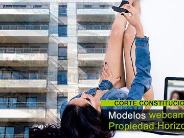 ¿Pueden funcionar estudios de modelos webcam en la propiedad horizontal?