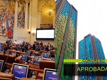 Aprobada reforma a la ley 675 en segundo debate en la Cámara de representantes