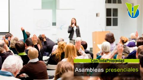 Qué indican las actuales normas sobre las asambleas presenciales