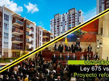 Paralelo proyecto de reforma y ley 675 de 2001